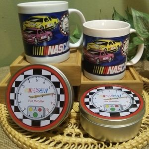 Collectable NASCAR Cups & Tins Lot